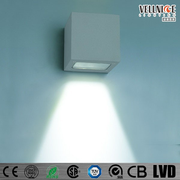 Outdoor Wall Wash Light,Wall Mount LED Light Exterior Stone Wall Lamp 3W W3A0018