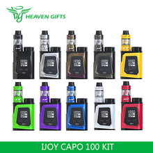 100% Original hi-tech e-cigarette 3750mAh IJOY CAPO 100 Kit With Captain Mini