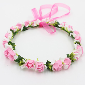 daisy flower headband flower garland tiara wedding crown with flowers wreath  for floral hair women wreath e0f25bf7157