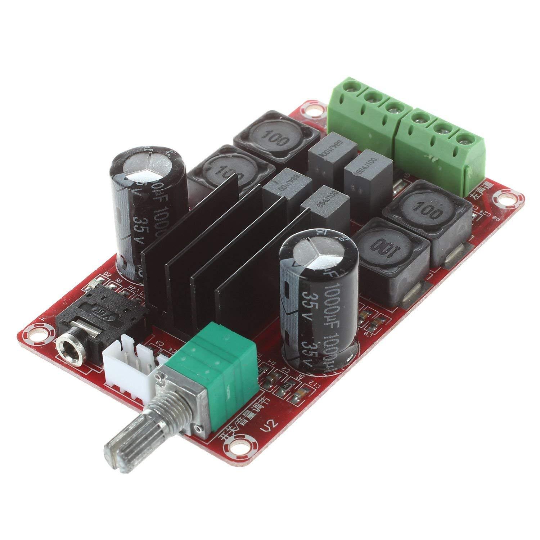 SODIAL XH-M189 2 50W high-end digital amplifier board DC24V TPA3116D2 two-channel stereo amplifier board