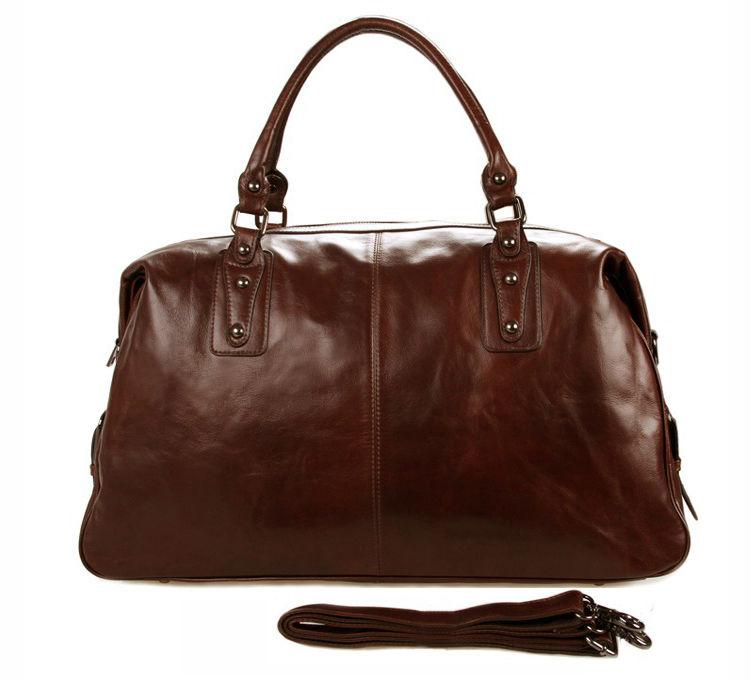 98514f1bd26e High Class Genuine Leather Travel bag Men duffel bag Genuine Leather  luggage bag Carry On Handbag Large Shoulder Bag Weekend
