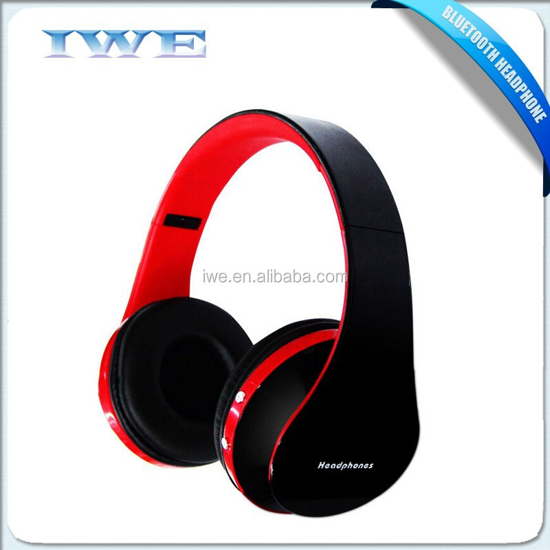 New Products 2015 Stereo Wireless Bluetooth Headphone Support Tf ...