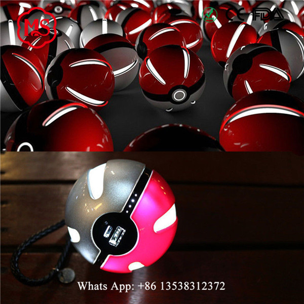 The Best and Cheapest power bank for samsung galaxy s3 mini i8190 pokemon pokeball power bank