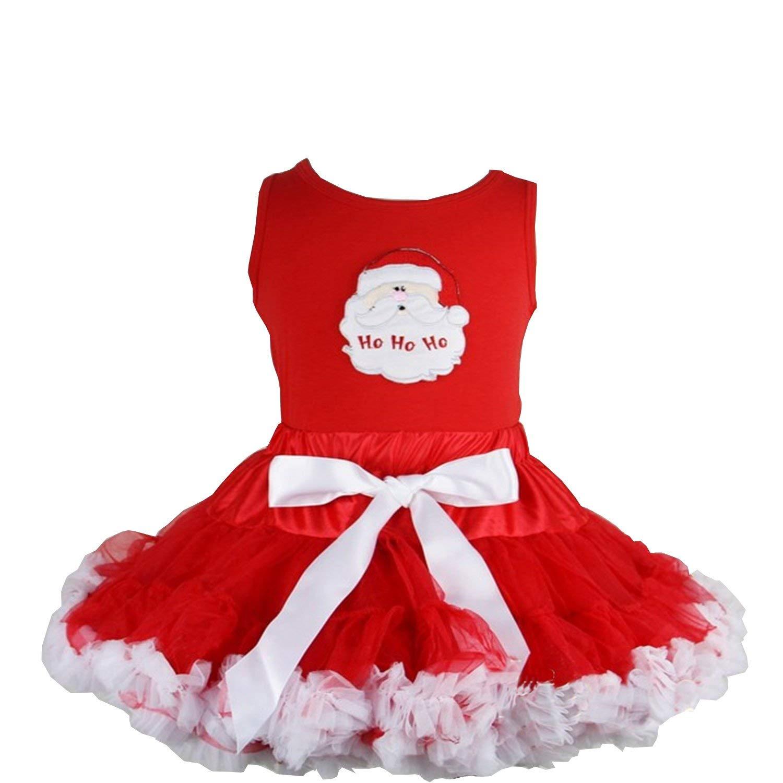 Kirei Sui Girls Red Zebra Pettiskirt Heart White Tank Top