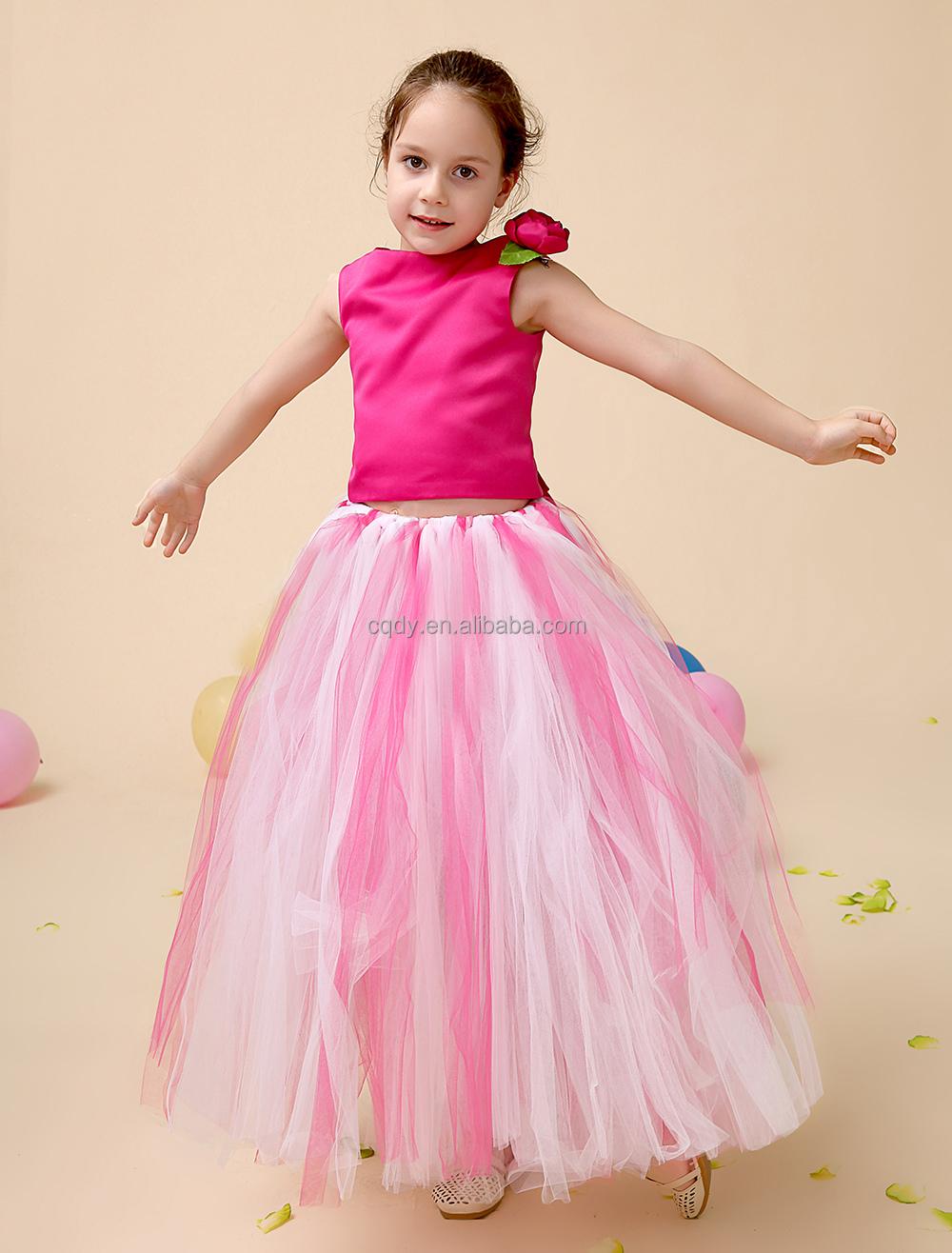 Boda De Tul Diseño Vestido Para Niña Niño Vestido Fancy Melocotón ...