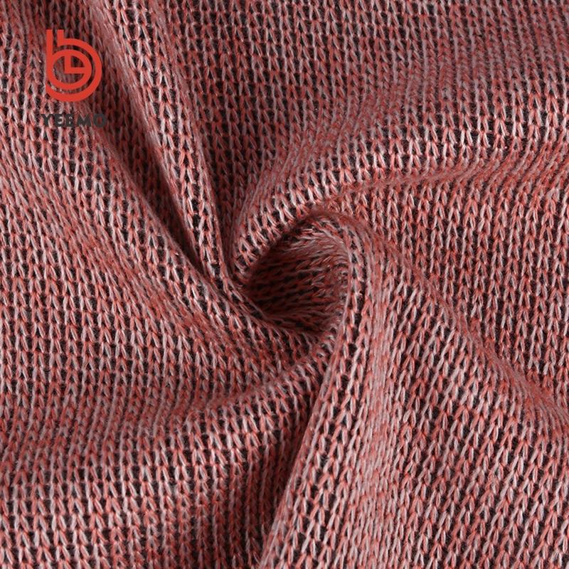 Diseño Popular tipos de tejido de punto cepillado volver lana hacci ...