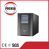 Online UPS 72V input 110V/220V output Sine Wave UPS 2KVA UPS external battery