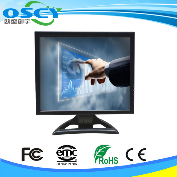Industrial Touch Screen Monitor 17Inch VGA TFT LCD
