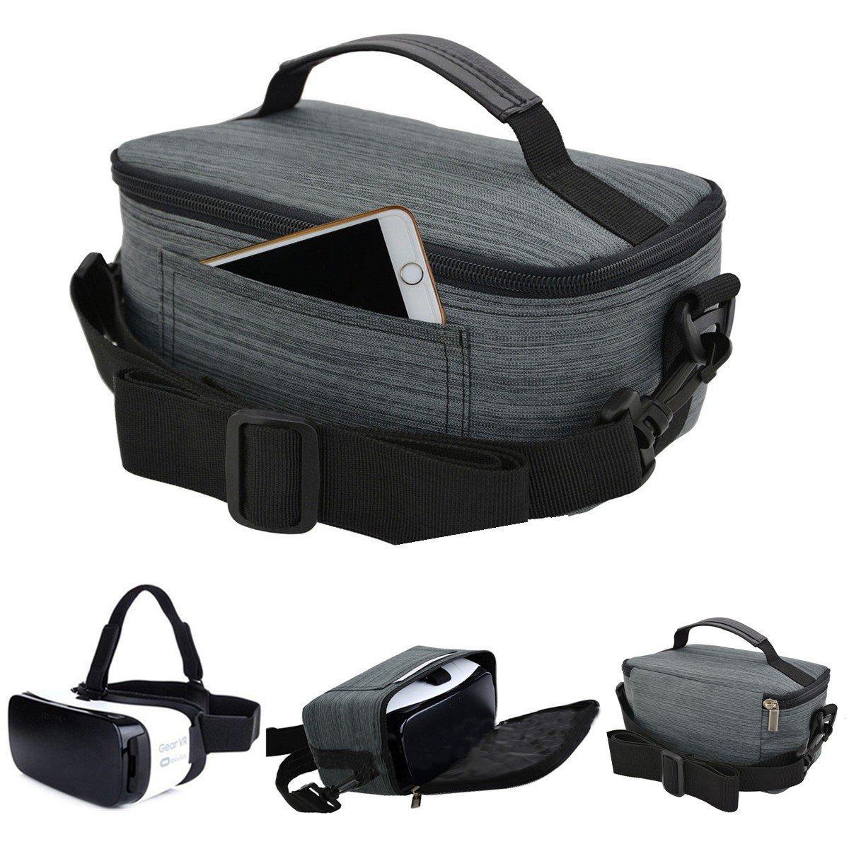 BephaMart Nylon 3D Glasses Cover Bag Storage Carrying Case For Samsung Gear VR Oculus 3D Glasses