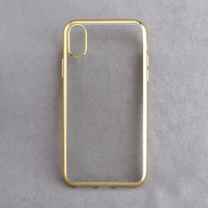 Electroplating TPU for Iphone X Compatible Brand and TPU Material Electroplating TPU for Iphone X