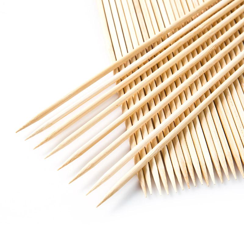 5mm 36 Inch Long Bamboo Marshmallow Roasting Sticks