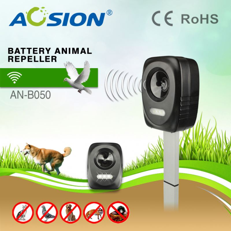 Aosion Fast Delivery Effectively Ultrasonic Motion Detector farm use sounds mole repeller