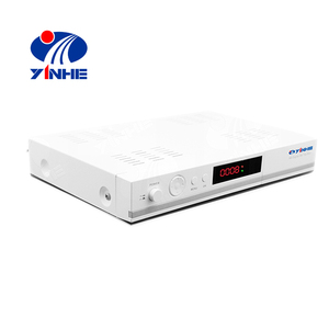 Good price combo satellite decoder DVB S2+T2 HD receiver support