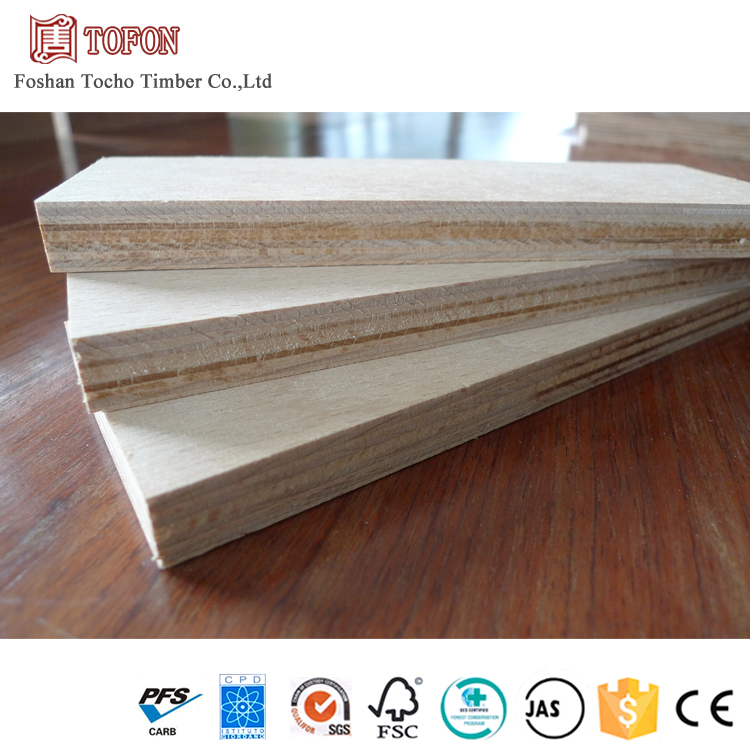 E0 Grade Sapele 18Mm Thick Stable Structure Multi Plywood