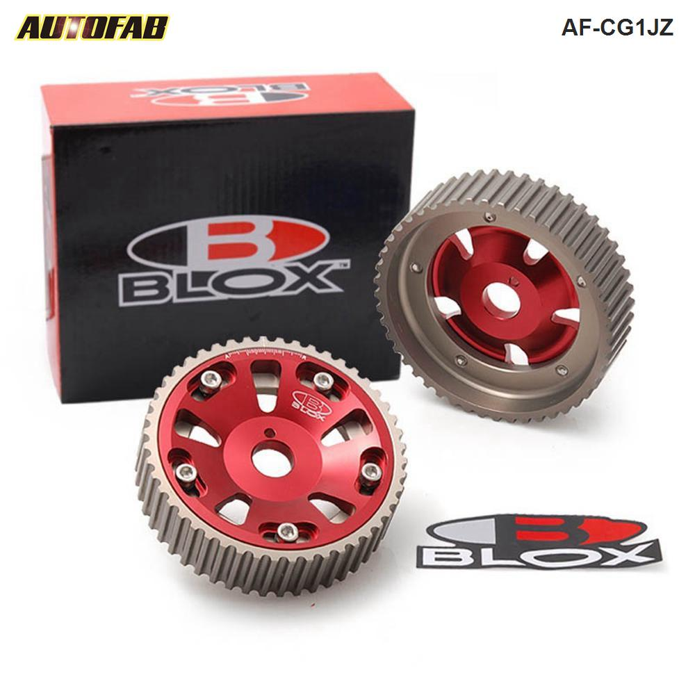 OBX Red Adjustable Sprocket Cam Gear 86 87 88 89 90 91 92 Toyota Supra 3.0L MA70