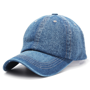 New design fashion lady girls jeans hat baseball cap