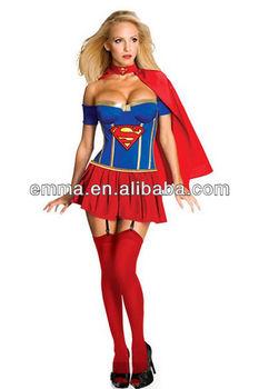 Ladies Costume Fancy Dress Up Superwoman Super Hero Woman BW752  sc 1 st  Alibaba & Ladies Costume Fancy Dress Up Superwoman Super Hero Woman Bw752 ...