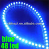 48 Led Great Wall Decorative Led Flexible Strip Light 12V For Car Aquarium