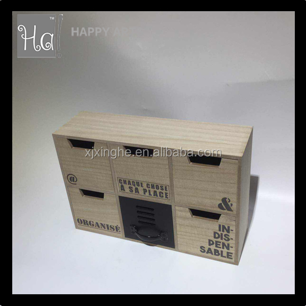 Black Leather Wooden Box For Jewelry And Watch Multifunctional Jewellery Gift