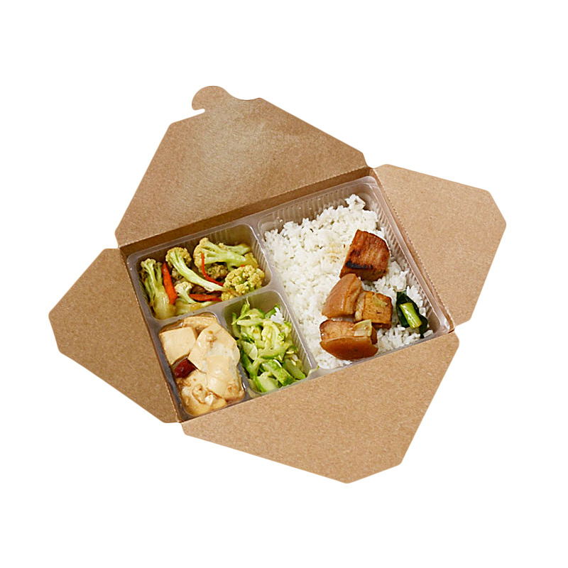 <strong>Delivery</strong> take away disposable meal containers food packaging box