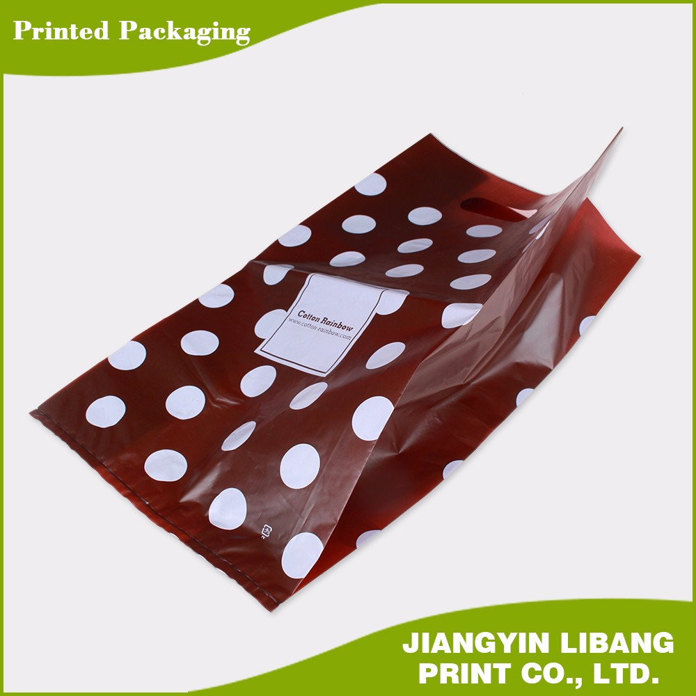 MDPE transparent flat bags plastic bag plastic packing bag