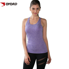 wholesale plain compression fitness women shirts and tops gym yoga womens tank top