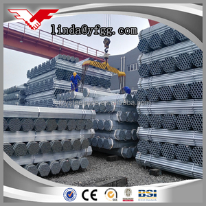 BS,ASTM,JIS,GB,DIN Standard High Quality Hot Dipped Galvanised ERW Fence Pipe Size