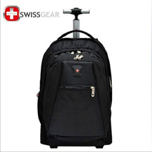 2015 Fashion 17-inch SWISS GEAR Rolling Carry On Luggage Trolley Travel Bag For Sale