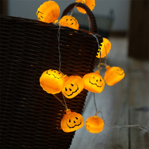 2018 Hotsale Halloween Pumpkin Lights Battery Powered Led Lights Led String Lights