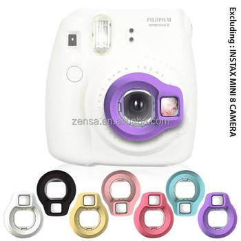 Fujifilm Instax Mini 8 7s 7 Instant Camera Purple Close Up Lens Self Shoot Mirror