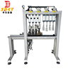 4 heads manual glass bottle capping machine