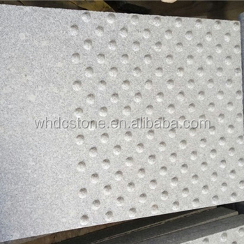 Wuhan High quality Landscaping Stone G603granite for Paving stone