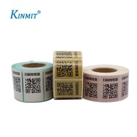 Accept Custom Logo Printed QR Code Stickers