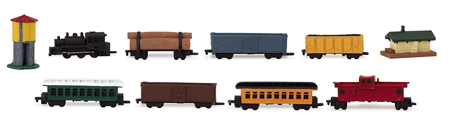 Get Ations Safari Ltd Steam Train Toob With 10 Connectable Hand Painted Figurines Including