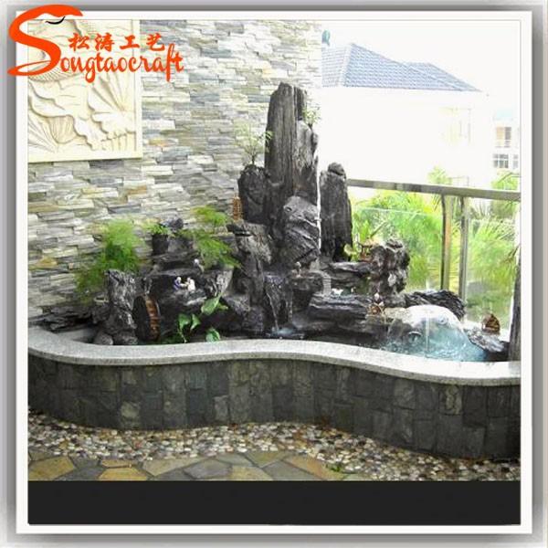moderne fontaine murale pour jardin d coratif fontaines d 39 eau pour la maison chinois pierre. Black Bedroom Furniture Sets. Home Design Ideas