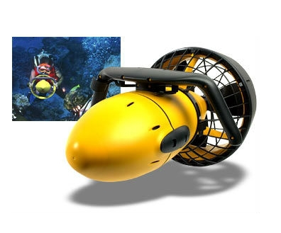 Hot Sales Sea Scooter / Underwater Diving Propeller SCUBA Snorkeling Package Swim Big Large Fish Kit Reef Rider Riding Fast