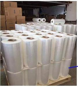Manufacturer Waterproof Plastic Transparent Strech Wrapping Roll Film Stretch Film roll