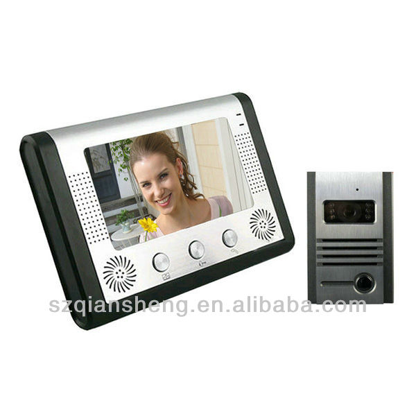 "7"" Colorful Handfree Video Door Phone /video door bell"