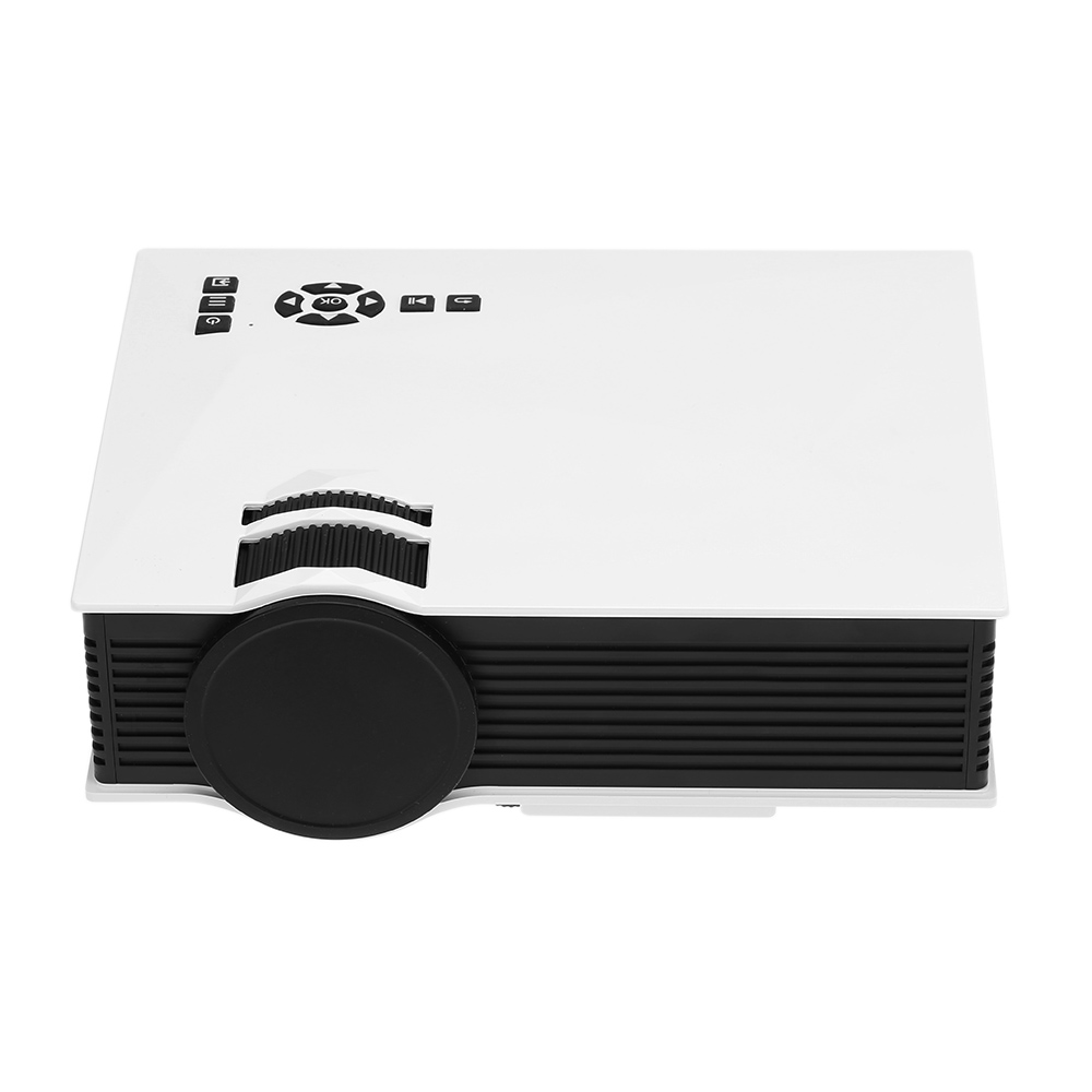 UC46+ WIFI HD Mini Portable <strong>Projector</strong> 1200 Lumens LED Home Cinema Support Miracast/Airplay Wireless Proyector