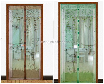 Southeast Asia market colorful magnetic door mesh screen & Southeast Asia Market Colorful Magnetic Door Mesh Screen - Buy ...