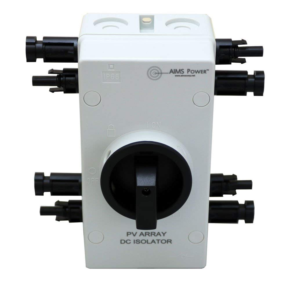 Buy Aims Power DC1600V32A2IO Solar PV DC Disconnect Switch in Cheap Price  on Alibaba.com