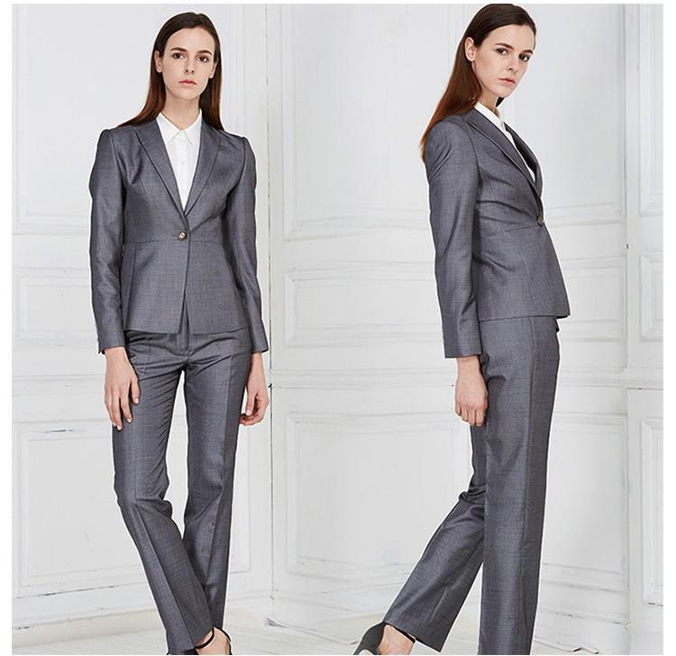 custom western formal office wear ladies office work suit