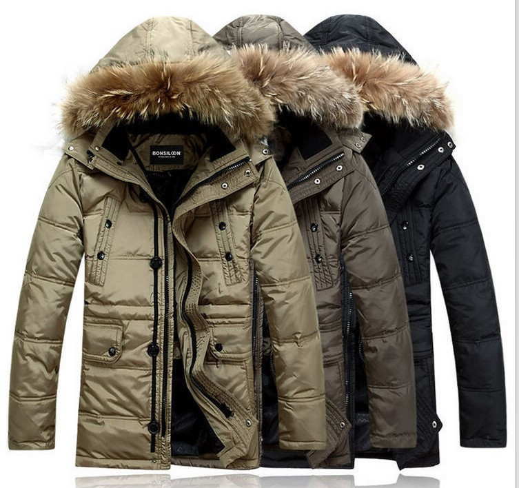 Online Designer Men's Jackets such as Bombers, Denim Jeans, Parka and Ski, from the Fall - Winter /19 Collection and on Sale in Outlet by known Designers such as Moncler, Armani and Gucci.