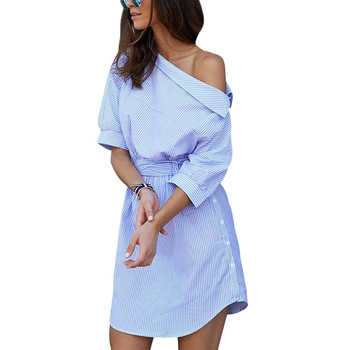 short summer womens shirt dress dresses