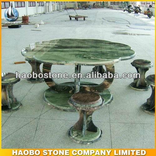Green Marble Stone Table Supplier