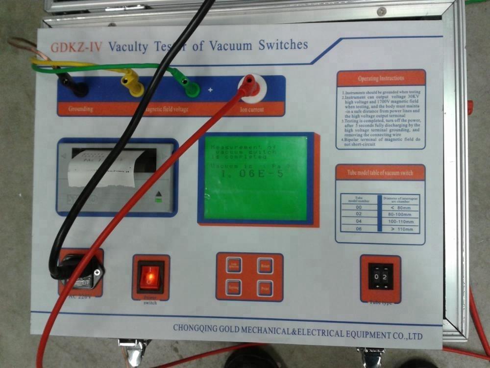 GDKZ-IV High Voltage Circuit Breaker Vacuum Degree Tester
