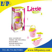 Popular pink little cleaning set toy with display box