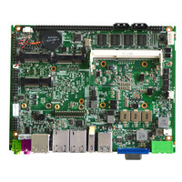 2017 Newest Embedded Industrial Components Main Board Motherboard With Touch Function For Industrial PC