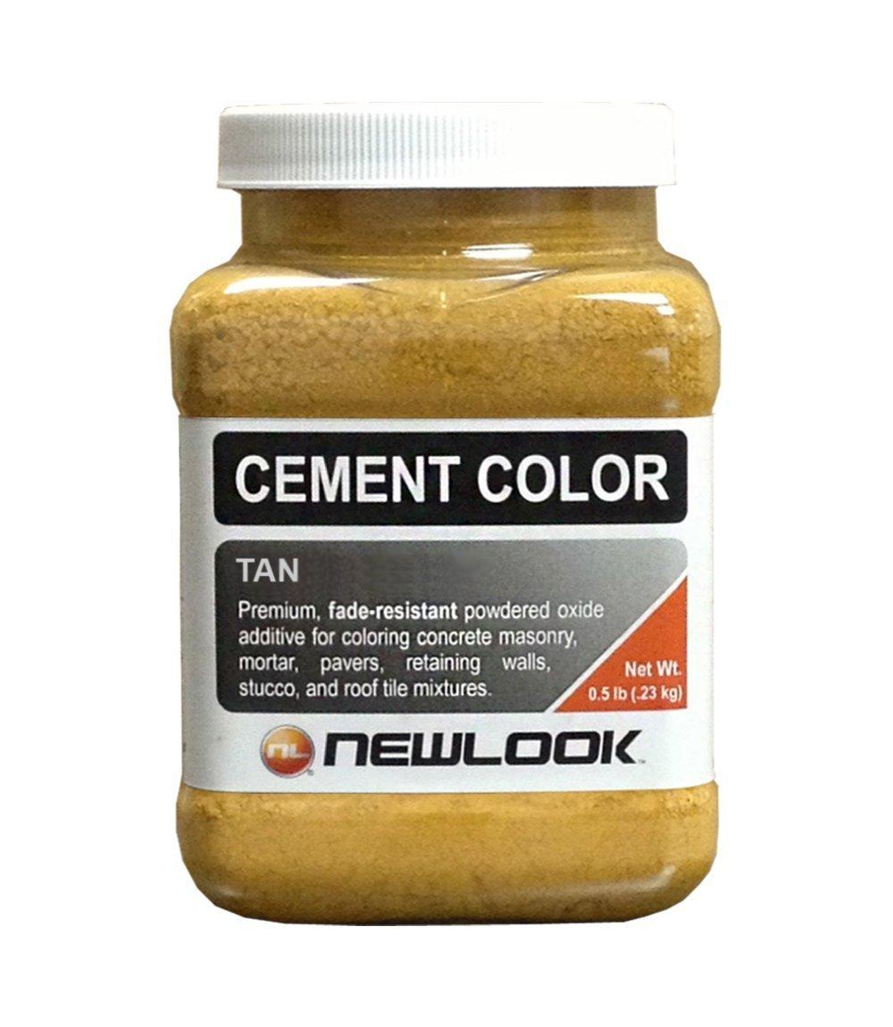 CEMENT COLOR 0.5 lb. Tan Fade Resistant Cement Color