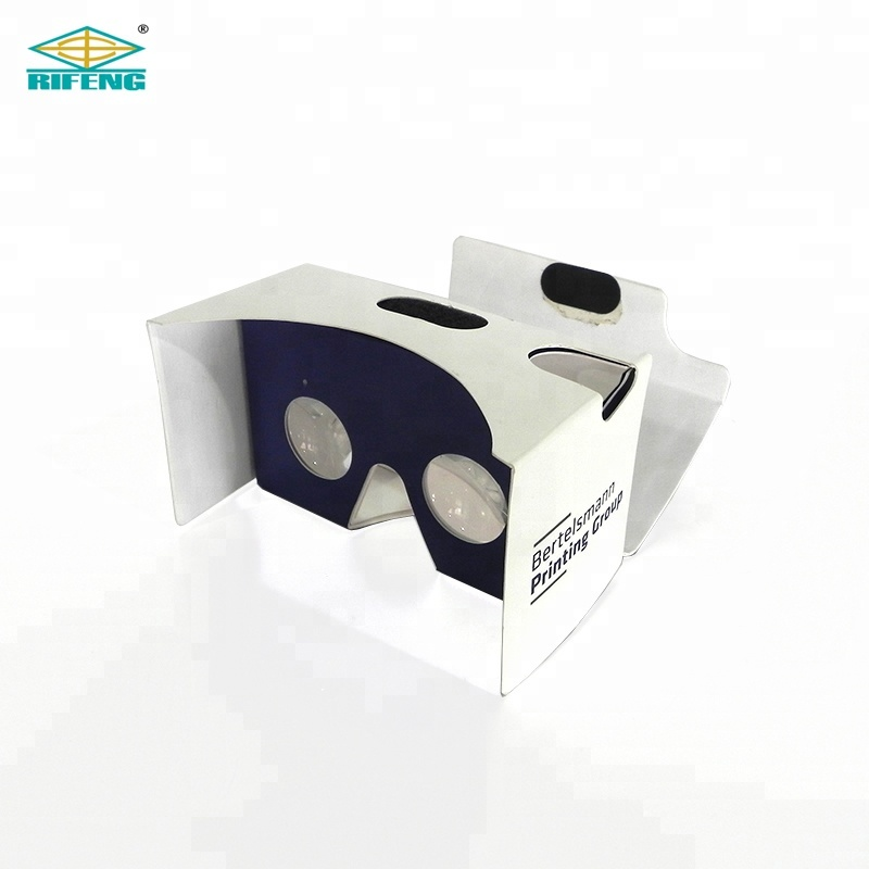 Promotional Custom <strong>3D</strong> <strong>VR</strong> <strong>Glasses</strong> Virtual Reality Google Cardboard V2 <strong>VR</strong> <strong>3D</strong> <strong>Glass</strong> Google Cardboard